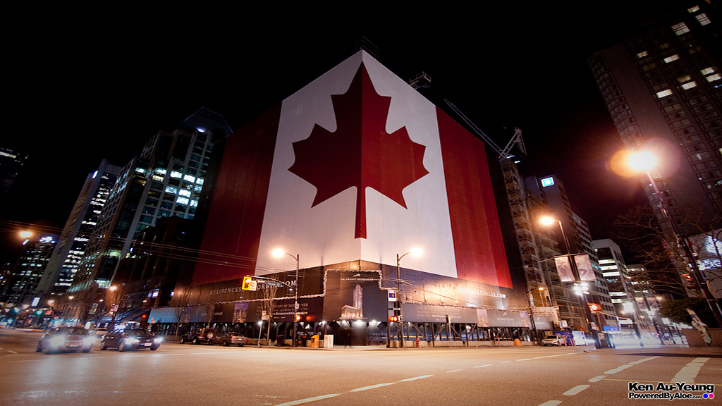 The Largest Canada Flag in the World
